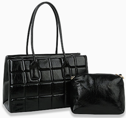 black vogue tote