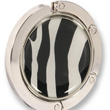 purse hanger zebra