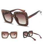 copper studded sunglasses