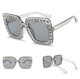 smoke studded sunglasses