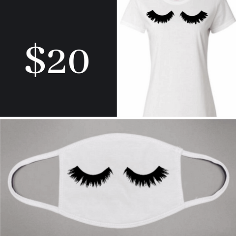 Lashes T-Shirt Bundle