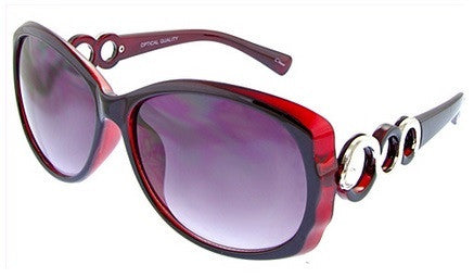 Monroe sunglasses in merlot