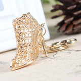 high heeled purse charm