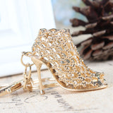 high heeled key ring