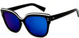 Mystique Sunglasses Blue Frame