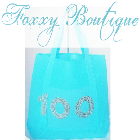 100 glam tote