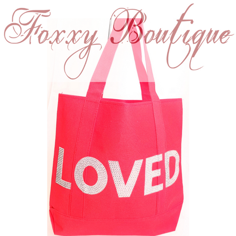 Loved Glam Tote