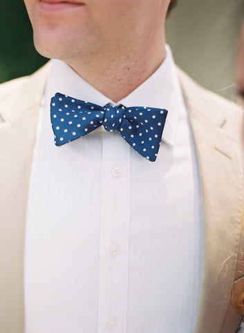 MIZU custom wedding bow ties