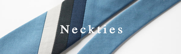 MIZU brand necktie collection