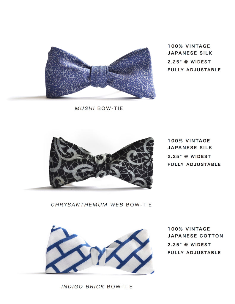 MIZU fall / winter preview bow ties