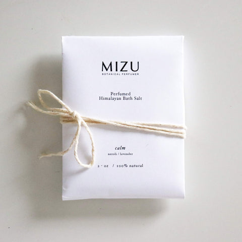 MIZU bath salt