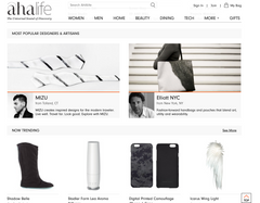 MIZU brand Featured on Front Page of AHAlife.com