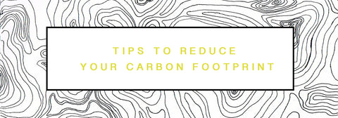 Tips to Reduce your fashion fabric carbon footprint / EARTH DAY