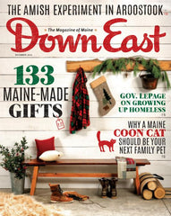 MIZU is featured in DownEast Magazines Holiday Issue