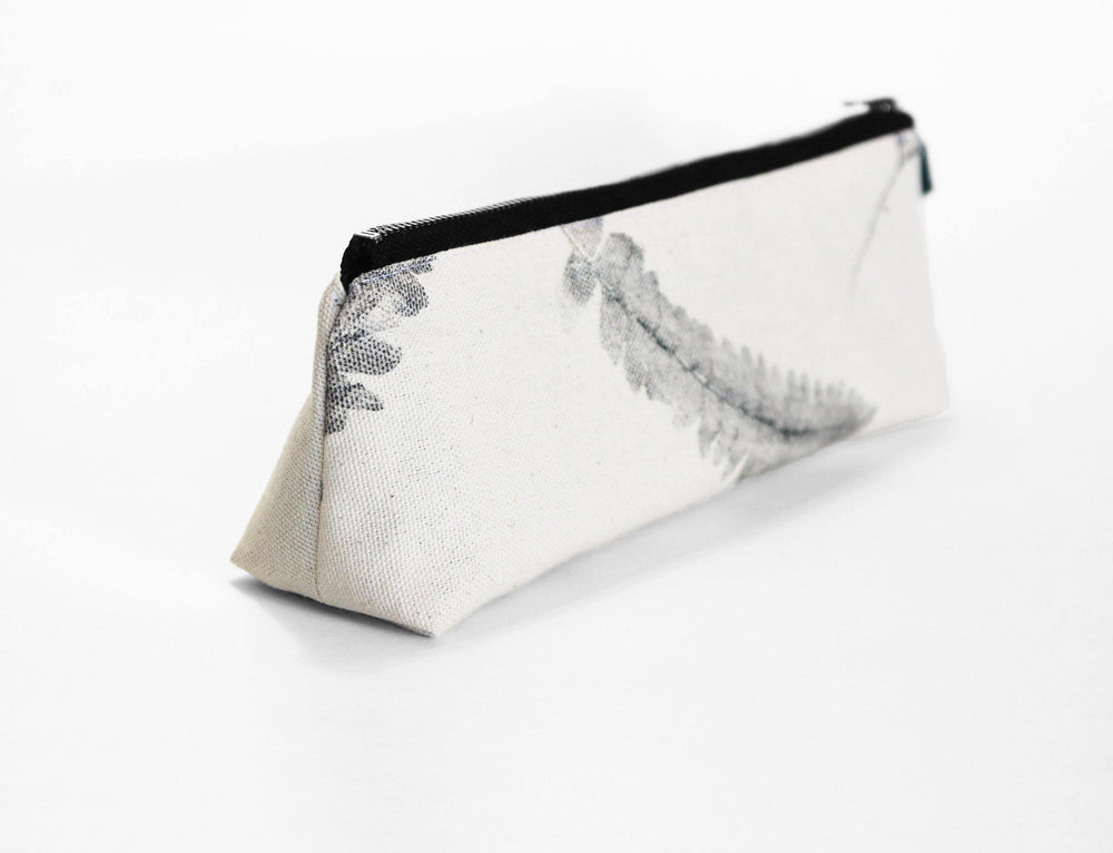 Botanical Print Pencil accessory case side view