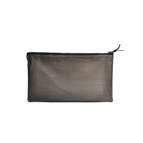 Shadow Mesh Clutch Bag