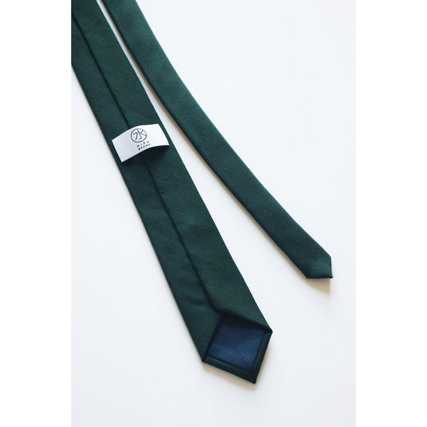 BOMI HIGH STRIPE NECKTIE BACK