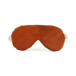 Silk Sleep Mask in Burnt Orange Silk