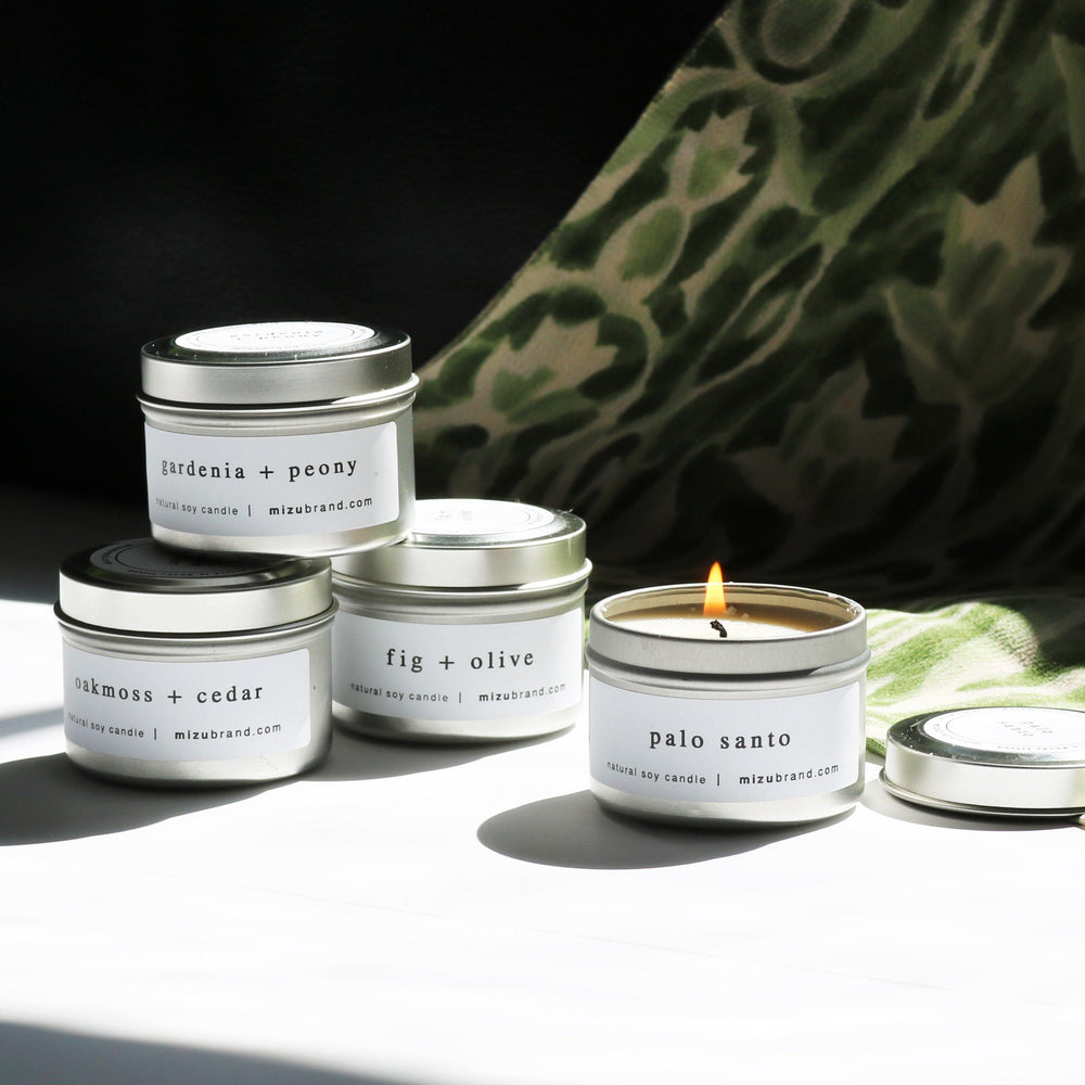 Natural Soy Candle Discovery Set