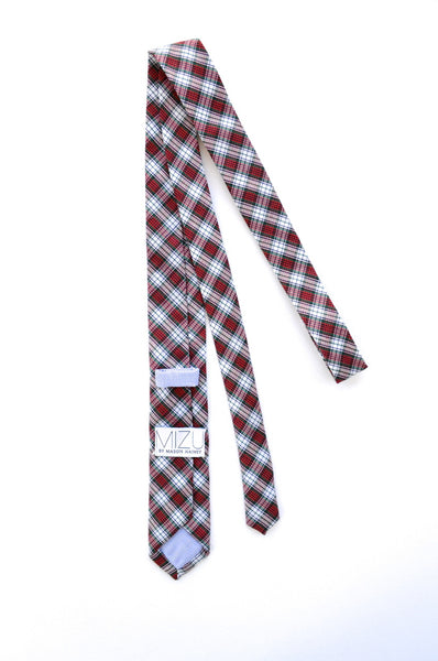 Cotton Necktie in Vintage Tartan