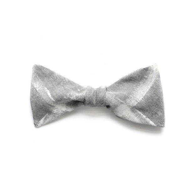 HAND PAINTED GRID BOW TIE IN VALDES
