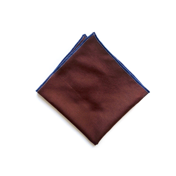 Himalaya Brick Cotton Pocket Square thumbnail