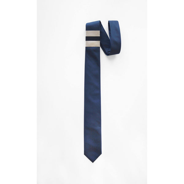 HORNBILL BLUE STRIPE NECKTIE full