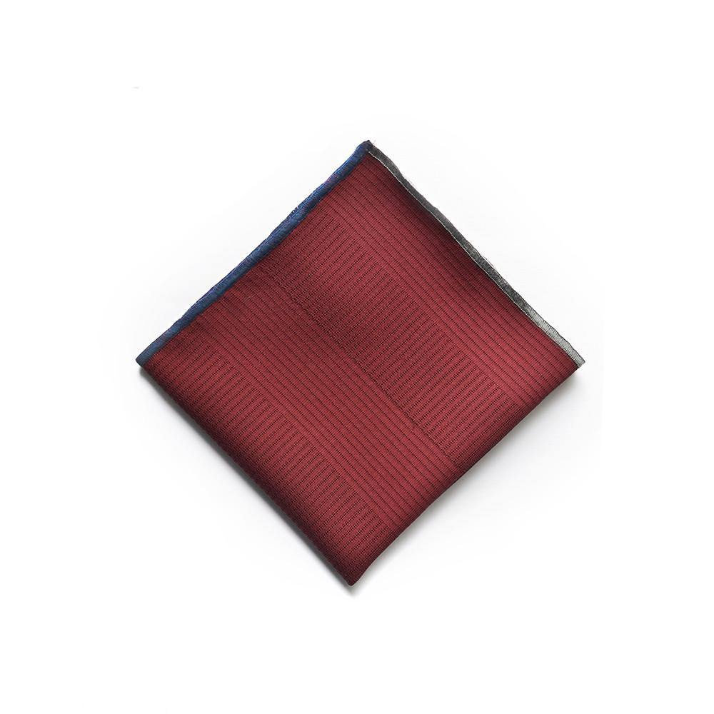 Pagoda Pocket Square in Japanese SIlk