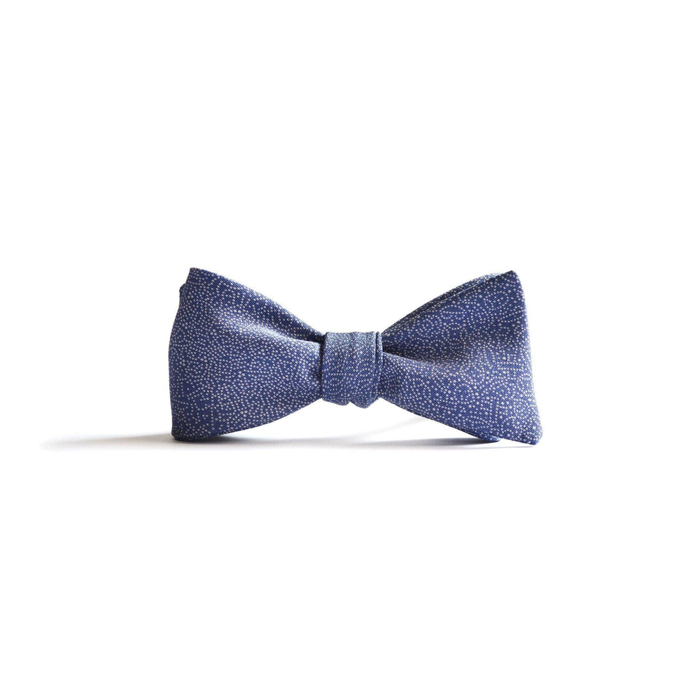 Japanese Silk Bow-Tie in Mushi