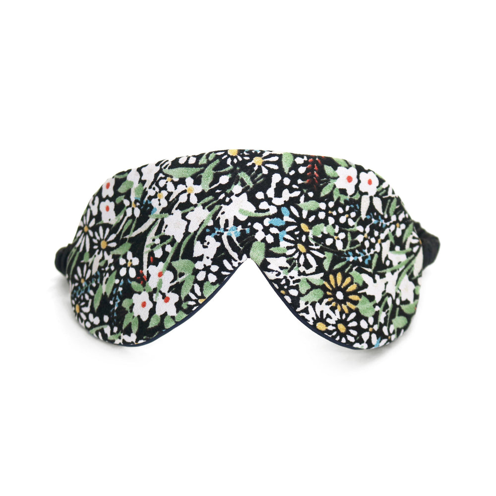 Japanese Floral Silk Eye Mask Thumbnail