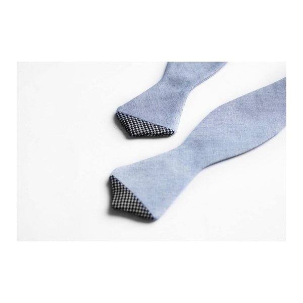 K21 CHAMBRAY BOW TIE DETAIL