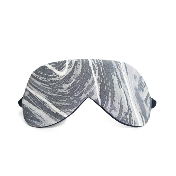 Japanese marble silk eye mask thumbnail