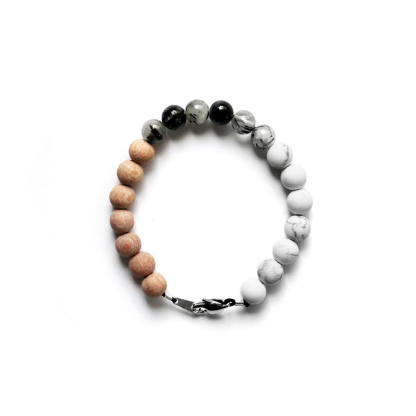 KO GEMSTONE STRETCH BRACELET
