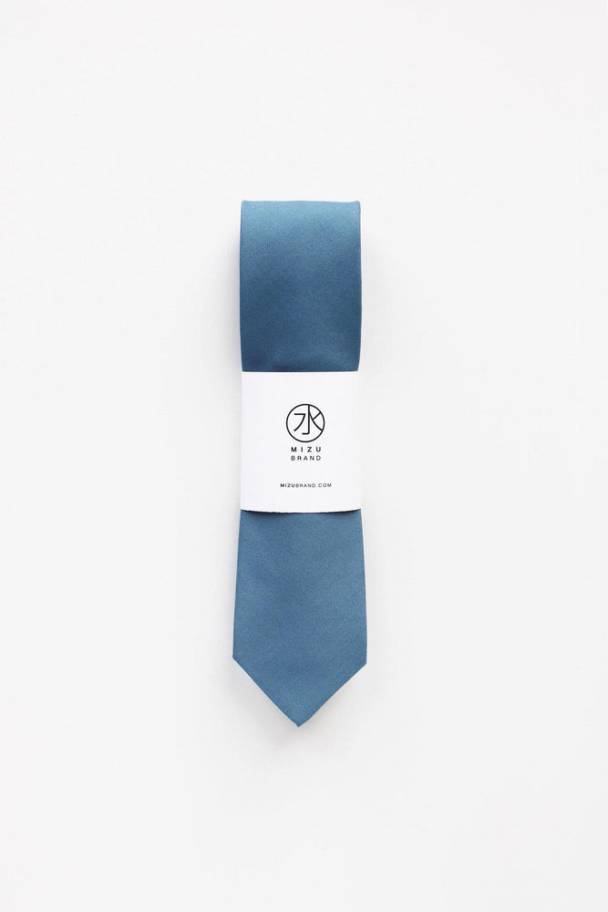 Lagoon Necktie in Cotton wholesale packaging
