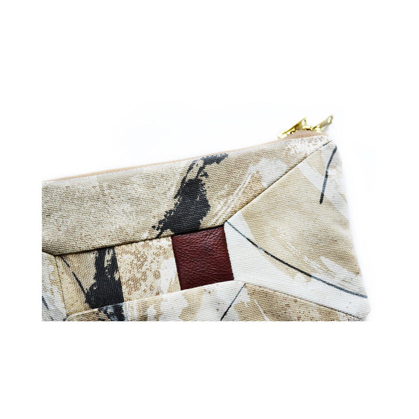 Canvas Artists Wallet Leather