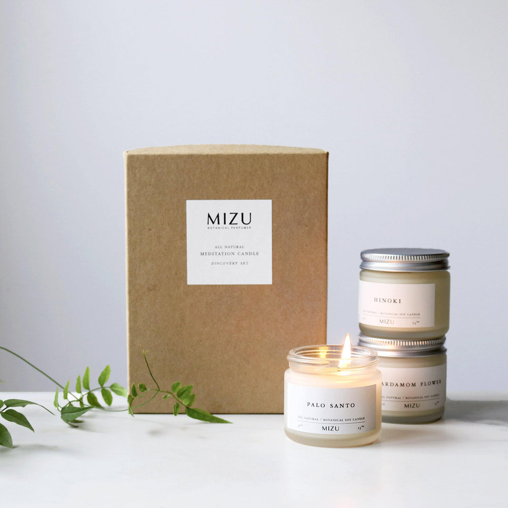 Meditation Candle Discovery Set