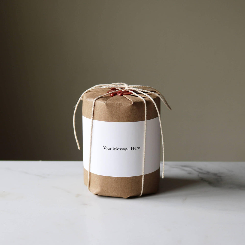Gift Wrap Essential Oil Candle