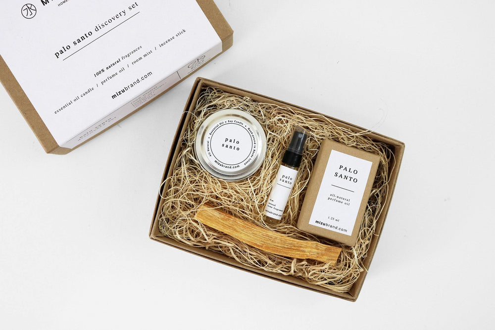 Palo Santo Essential Oil All Natural Discovery Set