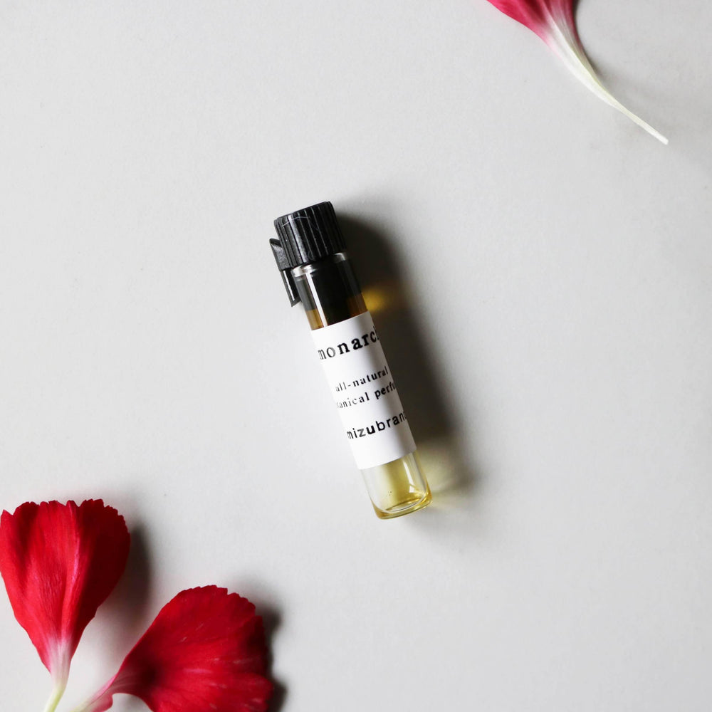 MONARCH All Natural Botanical Perfume Oil - Sample