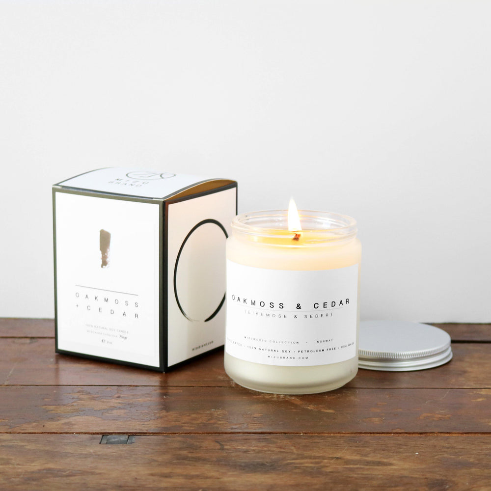 Oak Moss & Cedar Soy Candle / NORWAY
