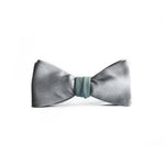 Reversible Plateau Hand Painted Bow Tie side view