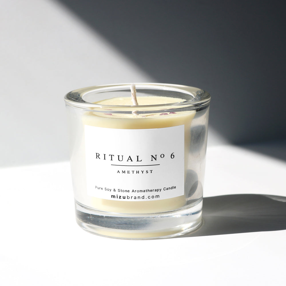 RITUAL No 6 /  THIRD EYE / Essential Oil Soy Candle - 2.75 oz