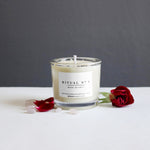 ROSE QUARTZ Essential Oil candle / RITUAL no 4