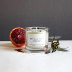 RITUAL No 2 / Tiger Iron all natural Aromatherapy Soy Candle