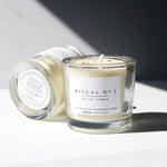 Minimal Design Essential Oil Candle / RITUAL no 3 , Solar Plexus chakra candle
