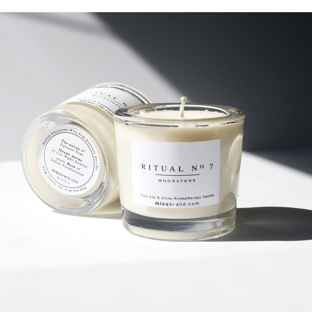 RITUAL no 7 / Luxury Minimal Design Soy Candle for Crown Chakra
