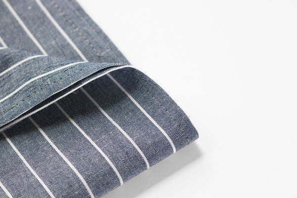 Chambray Stripe bandana detail