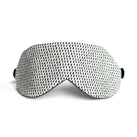 Silk Charmeuse Sleep mask in sky blue