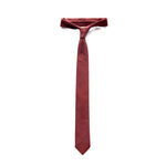 POTALA RED COTTON NECKTIE THUMBNAIL