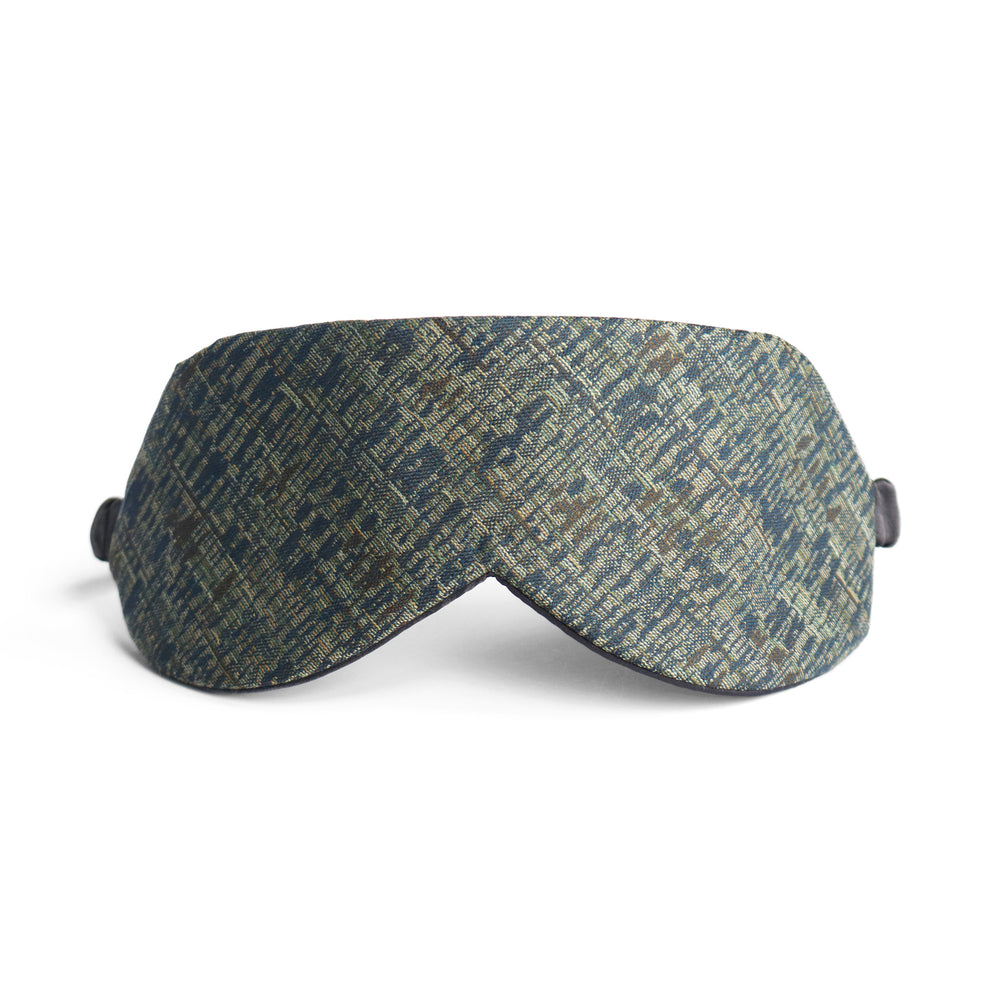 Vík Sleep Mask in Japanese Wool + Silk